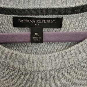 Banana Republic Factory Sweaters - Banana Republic Factory Men's Crew neck sweater